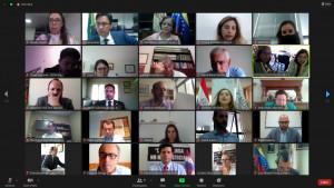 Participaram da reunião os representantes institucionais e associativos da Argentina, Brasil, Chile, Paraguai, Uruguai e Venezuela