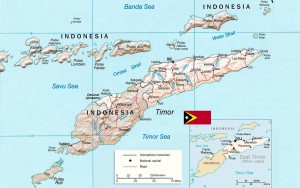 Geografia do Timor Leste.